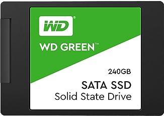 WD Green SSD 240 GB, 2,5 Zoll Interne Festplatte bis zu 545 MB/s Lesegeschwindigkeit; SSD (Solid State Drive) - SATA 6 Gbit/s
