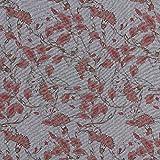 Fabulous Fabrics Baumwollstoff Kornblumen – rot —