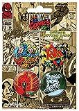 Marvel Comics (Set1)–Badge Pack