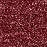 Fabulous Fabrics Strick Melange Bordeauxrot — Meterware ab 0,5m — zum Nähen von Strickkleidern, Strickjacken und Strickröcken