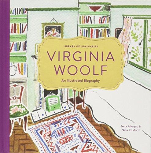 Library of Luminaries: Virginia Woolf: An Illustrated Biography por Zena Alkayat