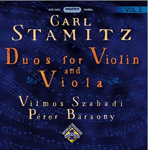 Stamitz, C.: Duos for Violin and Viola, Vol. 2