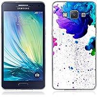 Coque Samsung Galaxy A5, Fubaoda Artistique Série Étui TPU silicone élégant et sobre pour Samsung Galaxy A5 (A500)