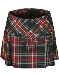 Spin Doctor Scotish Mini Skirt Skirt Black
