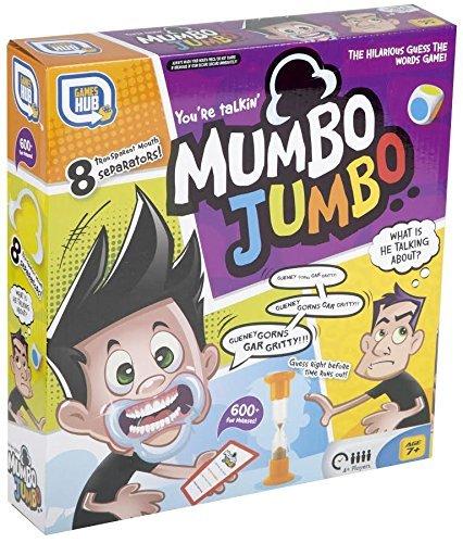 Spreche Jetzt aus Mumbo Jumbo Familie Edition Zahnschutz Spiel - Familie Party Spiel Kinder - Besten Mundstück Sprechen Müll Wettbewerb Spiel