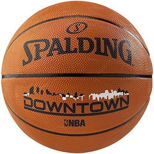 SPALDING NBA STRAßEN AUßEN SPIEL TRAINING &ÜBUNG INNENSTADT BASKETBALL GRÖßE 7 - Hellbraun, - Jungen-größe Für 7 Basketball-schuhe