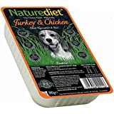 Naturediet Turkey and Chicken Pet Food, 18 x 390 g
