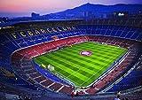 Poster Camp NOU Stadion Fußball FC Barcelona Art