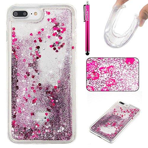 coque-iphone-7-plus-glitter-liquide-tpu-etui-firefish-dynamique-liquide-forme-de-coeur-sables-mouvan