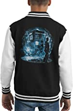 Cloud City 7 Doctor Who 9th Doctor Kid's Varsity Jacket