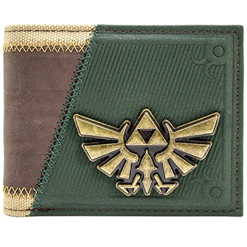 Legend of Zelda Link Twilight Princess Suit Up Braun Portemonnaie Geldbörse