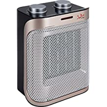 Jata TC92 Calefactor 1500 W, Negro y Bronce