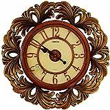 DIDADI Wall Clock Creativo della moda continentale muto pastorale antico salotto orologio pendolo orologi grafici muro orologio da parete orologio rotondo