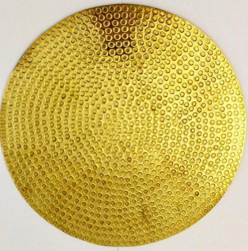 Gold-service Plate (Modernes und anspruchsvolles Küche und Esszimmer Service Ladegerät Gold Flat)