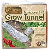 Tunnel agricole transparent Kingfisher en polyéthylène