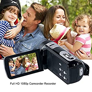 Videokamera-Camcorder-mit-IR-Nachtsicht-Weton-1080P-Full-HD-Camcorder-Digital-Videokamera-240-Megapixel-18-Fach-Digital-Zoom-Video-Camcorder-Zwei-Batterien-Enthalten