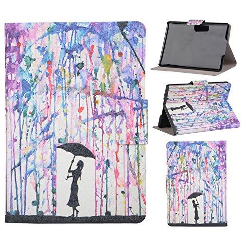"""Kindle Paperwhite Leather Funda,Baokai Flip Stand PU cubierta de cuero de la caja [duro interior] Colorido pintura cubierta de la piel protectora para Amazon Kindle Paperwhite con 6"""" - Color"""