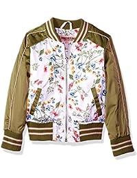 Urban Republic Toddler Girls Poly-Sateen Jacket, 100white, 4T