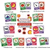 SYGA English Advance Flash Cards 100 Cards for Kids to Learn English