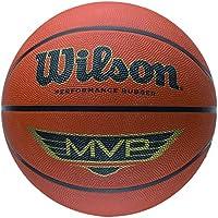 Wilson MVP - Balón, color Naranja/ Negro, tamaño: 7