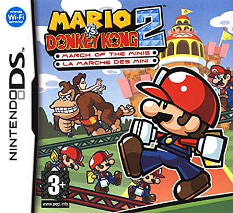 Mario vs. donkey kong 2 march of the minis