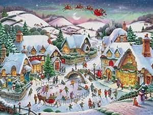 Ravensburger - Puzzle - Ambiance De Noël - 2000 Pièces