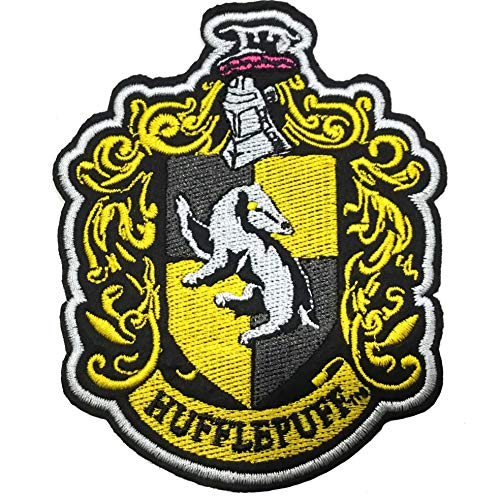 Noble Collection Parche Deluxe Hufflepuff - Harry