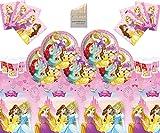 Disney Princess Party Supplies Kids Girls Juego de vajilla Comple