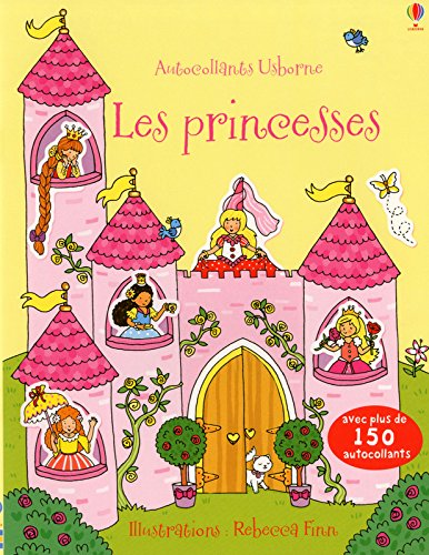 Les princesses - Autocollants Usborne par Jessica Greenwell