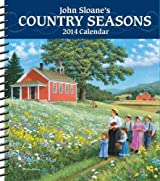 John Sloane's Country Seasons 2014 Weekly Planner Calendar