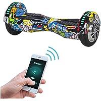 Robway W2 Hoverboard - Das Original - Samsung Marken Akku - Self Balance - 3 Farben - Bluetooth - 2 x 350 Watt Motor - 8…