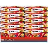 AgfaPhoto Vista plus 200 135-24 Negativ Film für Papierbilder (10-er Packbis zu 240 Aufnahmen) - gut und günstig