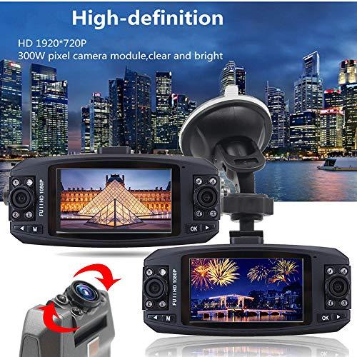 SDRFSWE Dual Lens 1080P Registratore di Guida Specchietto Retrovisore per Auto DVR Full HD Telecamera per Auto Telecamera per Retromarcia Doppia Lente 38