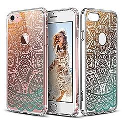 Capa para iPhone 7com mandala Alheña de Oro