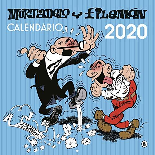 Calendario de pared Mortadelo y Filemón 2020