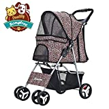 Songtree - Carrito Plegable Impermeable para Mascotas Perros Gatos Animales Pequeños Color...