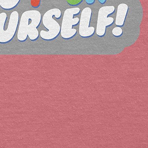 TEXLAB - Go F*ck Yourself - Damen T-Shirt Pink