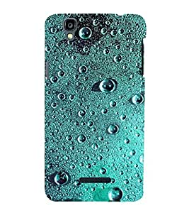 PrintVisa Simple Sober Drop Pattern 3D Hard Polycarbonate Designer Back Case Cover for YU Yureka Plus :: Yu Yureka PlusYU5510A