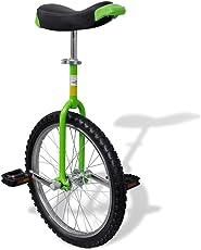 """vidaXL Luxus Einrad höhenverstellbar Unicycle Fahrrad mit Schnellspanner 16"""", 20"""""""