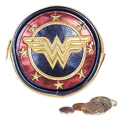 Sac à main à monnaie ronde avec logo