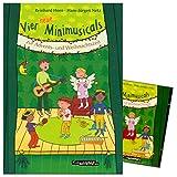Vier neue Minimusicals zur Advents- und Weihnachtszeit - SET: Notenbuch und CD - Autor: Reinhard Horn, Hans-Jürgen Netz