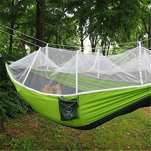 Top aus fallschirmmaterial Camping Hängematte mit Moskitonetz - 3