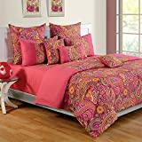 Swayam Colors of Life Printed Cotton Bed...