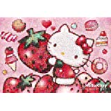 Strawberry Love 31-401 of Hello Kitty 1000 mosaic art piece Hello Kitty (japan import)