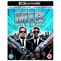 Cheap DVDs and blu-ray - Men In Black [4K Ultra HD + Blu-ray] [1997