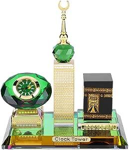 Symboat Vintage Mosqu/ée islamique Azan horloge murale pri/ère musulmane Home Room Decor cadeau