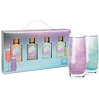 Modern Gourmet Foods, Set Regalo Glitter per Cocktail al Gin e Prosecco, Include 4 Confezioni di Glitter Aromatizzati…