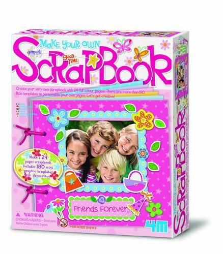 4M Make Your Own Scrapbook - Haz tu propio libro de scrap