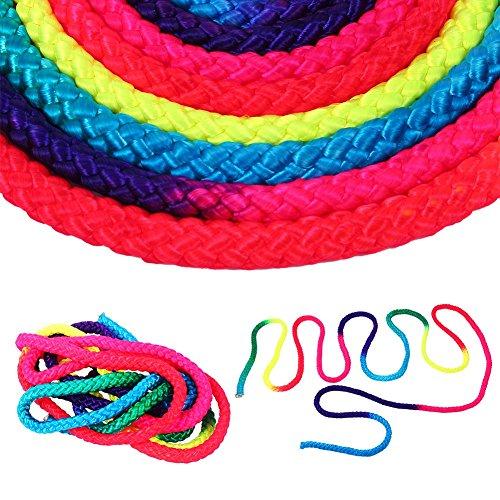 Tbest Gimnasia Rainbow Cuerda Gimnasia Rítmica Gimnasia