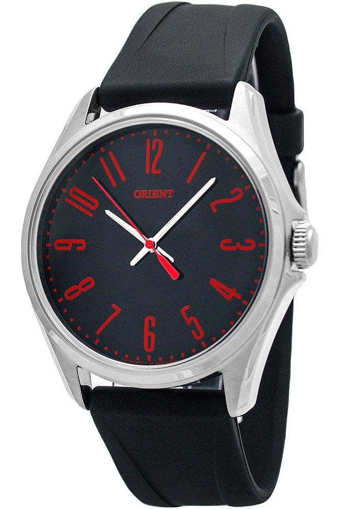 Orient Reloj Analógico para Hombre de Cuarzo con Correa en Caucho FQC0S00CB0